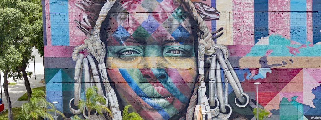 Painted Wall Rio de Janeiro
